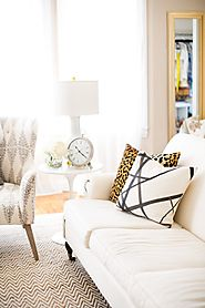 Perfect Pillow Pairing: Leopard + Channels - Arianna Belle