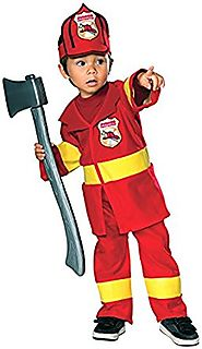 Rubie's Costume Juvenile Jr. Firefighter Costume