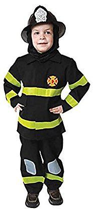 uhc little boyu0027s uniform fireman fire fighter toddler kids halloween costume