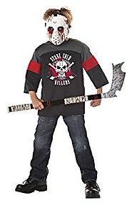 California Costumes Blood Sport Child Hockey Halloween Costume, Large