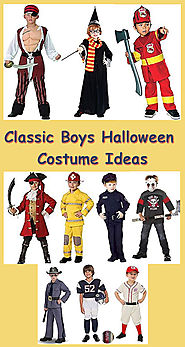 Classic Boys Halloween Costume Ideas