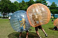 Bloop Bubble Soccer Rental