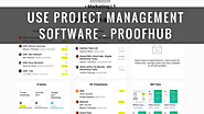 Use Project Management Software - ProofHub