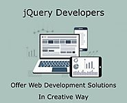 Hire Best Dedicated jQuery Developers From India