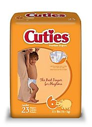 Cuties Jumbo Pack Diaper, Size 6, 92 Count