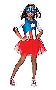 Rubie's Marvel Universe Classic Collection Metallic American Dream Costume, Child Large