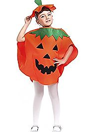 Halloween Pumpkin Costume Set for Family Parent Kids Orange Cosplay Suit Hat School Party Children Clothing Clothes