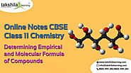 Empirical and Molecular Formula:NCERT Solutions for Chemistry Class 11
