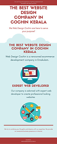 The Best Website Design Company in Cochin Kerala