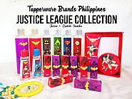 Tupperware Brands Justice League collection limited edition