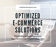 Optimized E-commerce Web Design Solutions