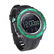 Pyle PSWWM82GN Digital Multifunction Sports Watch with Altimeter/Barometer/Chronograph/Compass and Weather Forecast (...