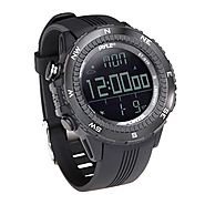 Pyle PSWWM82BK Digital Multifunction Sports Watch with Altimeter/Barometer/Chronograph/Compass and Weather Forecast (...