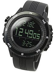 [LAD WEATHER] German Sensor Digital Compass Altimeter / Barometer/ Weather Forecast/ Multi function/ Outdoor Climbing...