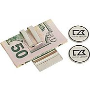 Cutter & Buck Tour Money Clip Set
