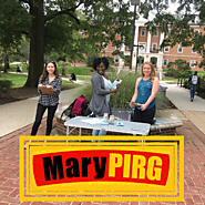 MaryPIRG raises over $1000 dollars for Hurricane Relief Network