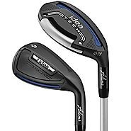Adams Golf Men's New Idea Tech Hybrid Irons, Right Hand, Graphite, Senior, 4-GW