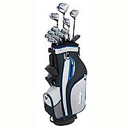 Tour Edge HP25 Men's Senior Complete Golf Club Set, Right Hand
