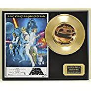 Signed Darth Vader Star Wars Poster In Deluxe Frame With Silver Inlay | Autographed Movie Memorabilia