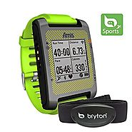 Bryton Amis S630H Smartest GPS Multisport Watch + Heart Rate Monitor (Green)