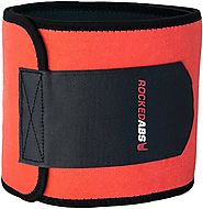 #1 Workout Waist Trimmer Belt for Men and Women - Pro Fitness Trainer Quality - Provides Back Support While Burning B...