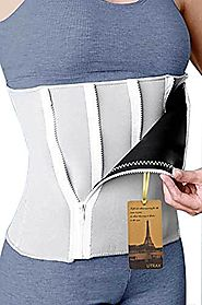 "35""-60""waistline Neoprene 5 Zipper Adjustable Weight Loss Slimming Belt Waist Trimmer"