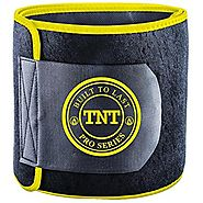 TNT Pro Series Waist Trimmer Weight Loss Ab Belt - Premium Stomach Wrap and Waist Trainer (Original)