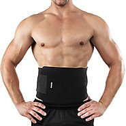 Bracoo Waist Trimmer, Neoprene Sweat Belt, Adjustable Caloric Burner, Sauna Band – Increased Core Stability, Metaboli...