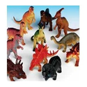 "Amazon.com: Rhode Island Novelty Assorted Jumbo Dinosaurs Up to 6"" Long Toy Figures, 12-Pack: Toys & Games"