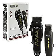 Wahl Professional Essentials Combo #8329 – Features the Taper 2000 Clipper and AC Trimmer – Great for Barbers, Stylis...