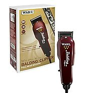 Wahl Professional 5-Star Balding Clipper #8110 – Great for Barbers and Stylists – Cuts Surgically Close for Full Head...