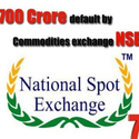 MCX Commodity market stocks falls 10% in 4 months by NSEL crisis
