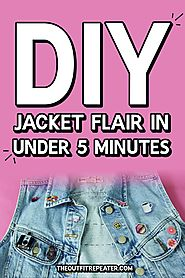 DIY Jacket Flair in Under 5 Minutes | The Outfit Repeater