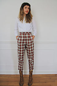 Plaid Pants.