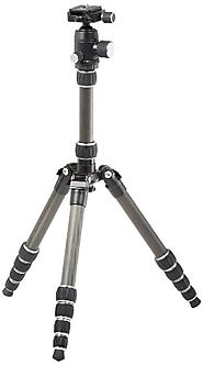 AmazonBasics 52-Inch Carbon Fiber Travel Tripod with Bag