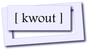 kwout | A brilliant way to quote