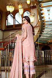 FLORAL DAMASK BY NOOR BY SAADIA ASAD
