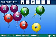 Balloon Pop Skip Counting Game