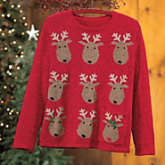 Cute Christmas Sweaters for Women 2013 - Holiday Cardigans, Sweaters and Vests