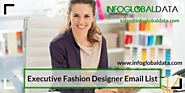 Executive Fashion Designer Email List