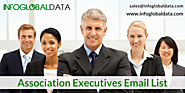 Association Executives Email List