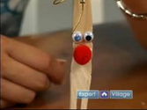 Arts & Crafts With Clothespins : How to Make a Reindeer With Clothespins