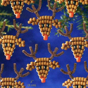 Holiday Beaded Ornament Kit-Red-Nose Reindeer