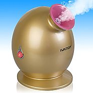 Ivation Mini Facial Steamer for Use w/Essential Oils and Aromatherapy