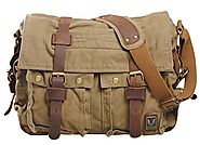 Top 10 Best Retro Travel Shoulder Canvas Messenger Bags for Men Reviews 2017-2018 on Flipboard