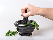 listography: products (Best Extra Large Mortar and Pestle Molcajete Set)