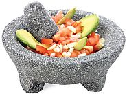 Fresco Molcajete Granite Mortar and Pestle