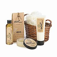 Spa Gift Set, Luxury Mother Gift Basket Spa Care - Clean Bamboo Sugarcane Scent
