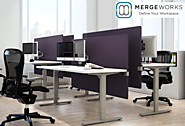 Merge Works Desk Dividers For Ready-Made Office Privacy Solutions