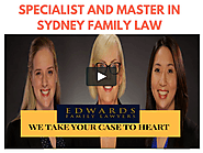 Edwards Family Lawyers Sydney - Master in Sydney Family Law